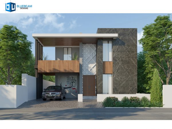 """10 marla modern house plan"""