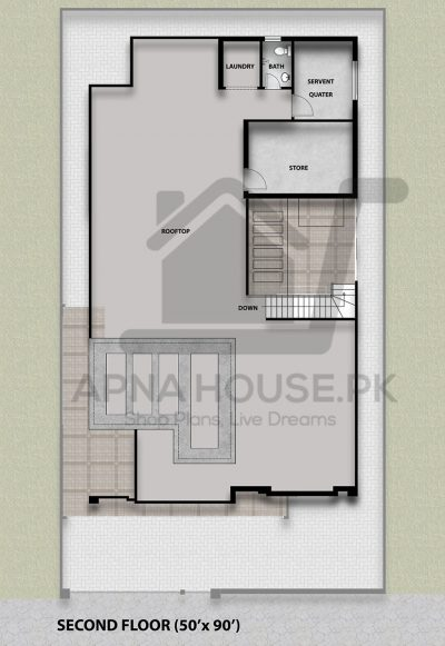 """1 kanal contemporary house plan"""